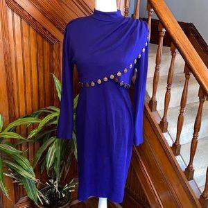 Vintage coin long sleeve dress.